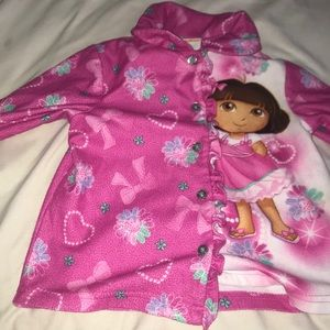 Little girls pajama top